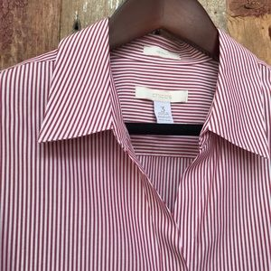 Chico's Stripe Dress Shirt XL